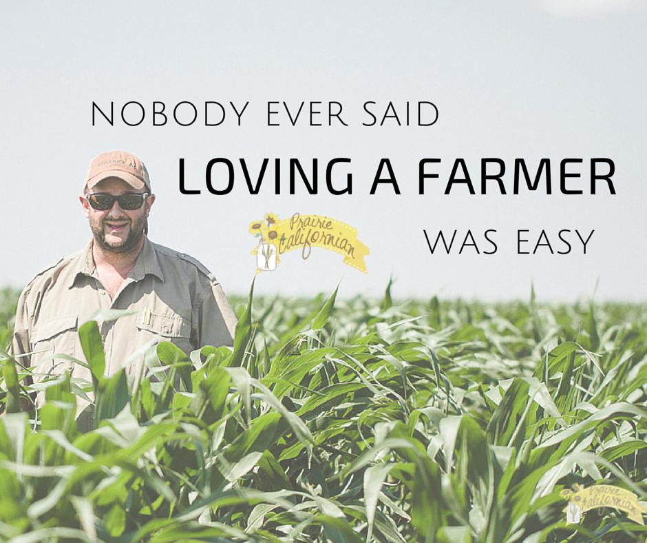 Nobody Ever Said Loving a Farmer Was Easy