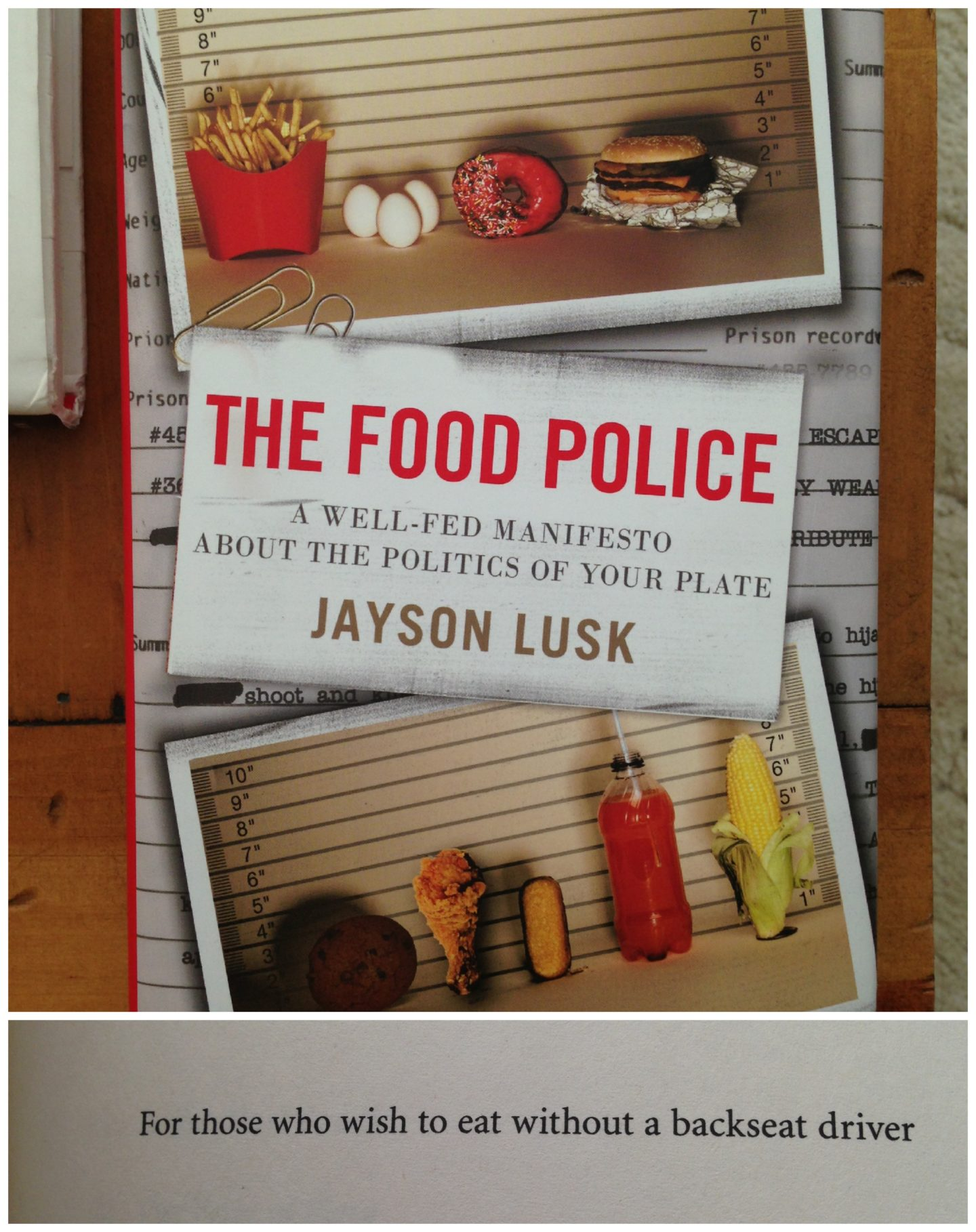 Addressing the Food Police… Who are They?