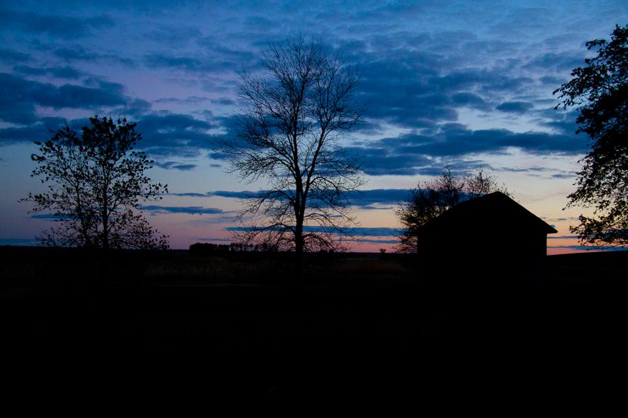North Dakota Fall Sunset-4