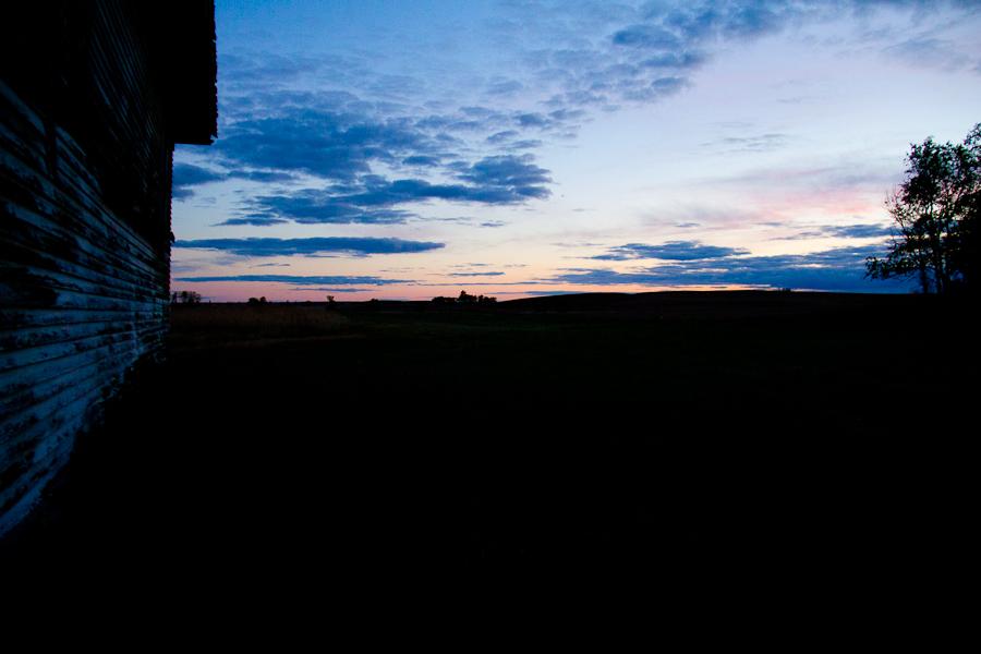 North Dakota Fall Sunset-6