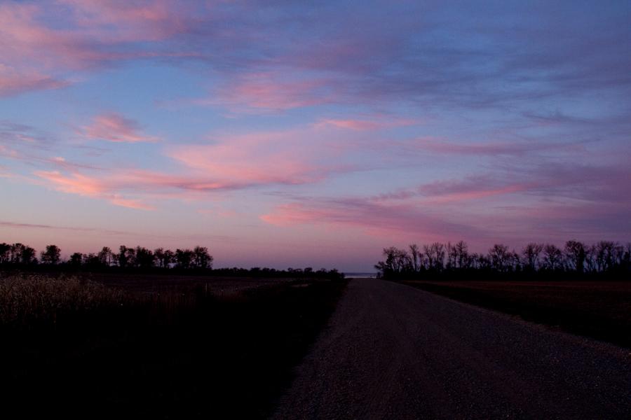 North Dakota Sunset Fall -18