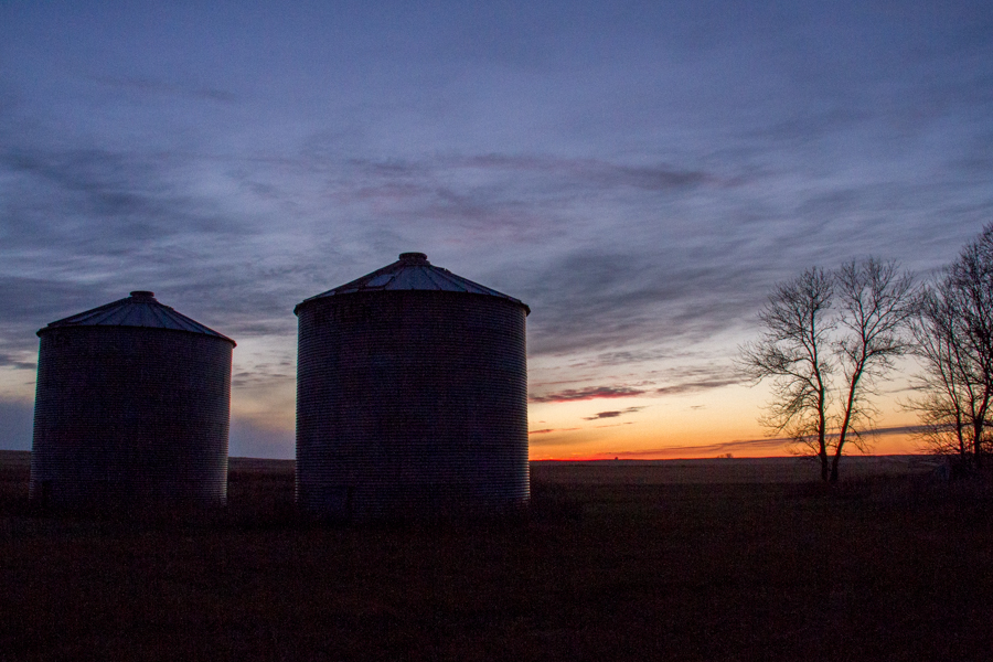 North Dakota Sunset Fall -20
