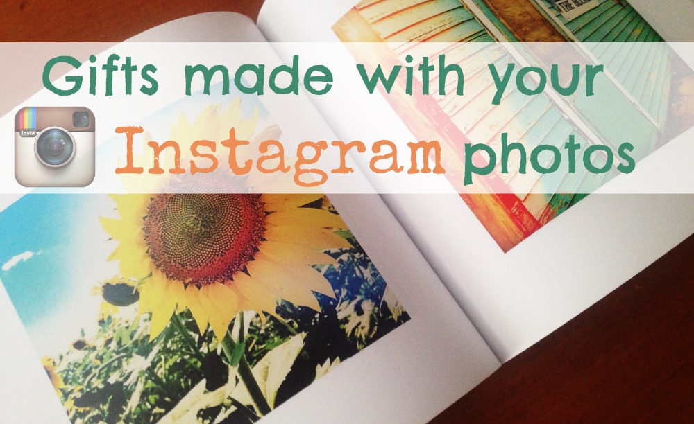 Gifts Made with Instagram Photos