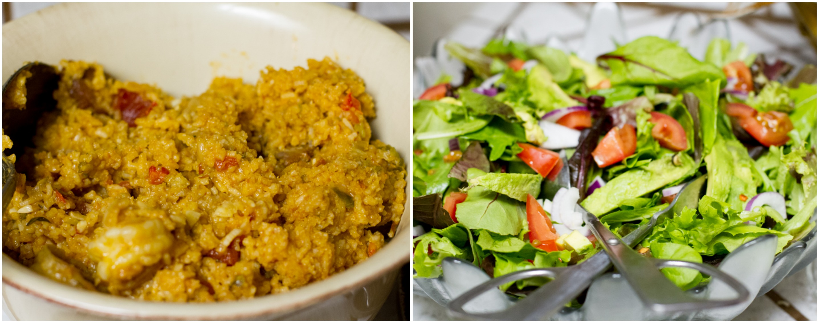 Jambalaya and Green Salad