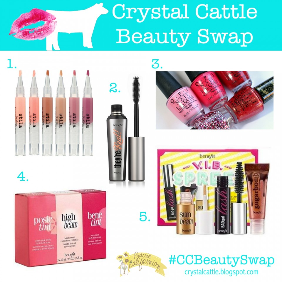 Crystal Cattle Beauty Swap Prairie Californian