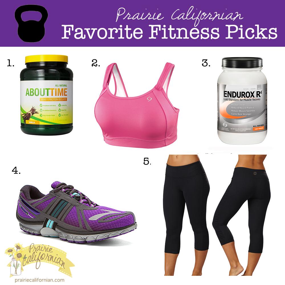 Fitness & Healthy Eating: Favorite Fitness Picks