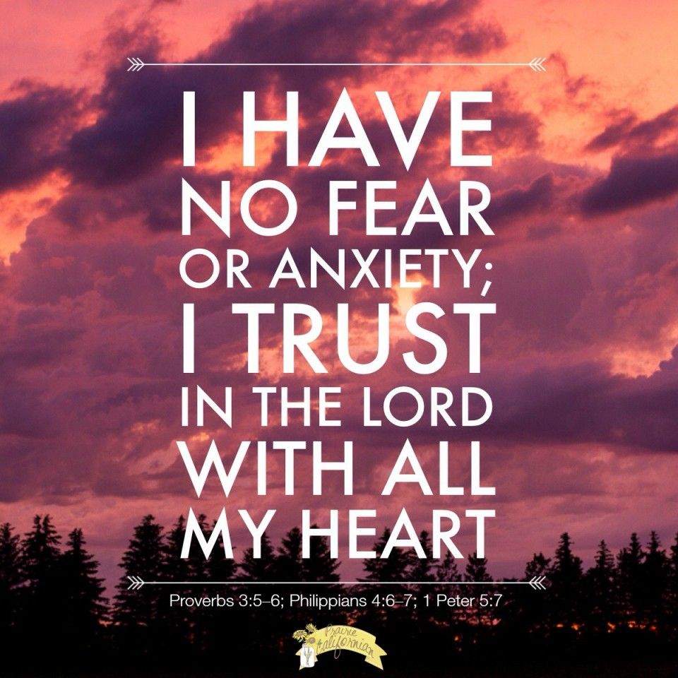 Trust in the Lord with All My Heart