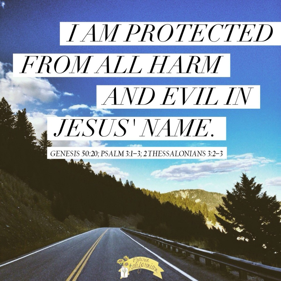 I am Protected in Jesus