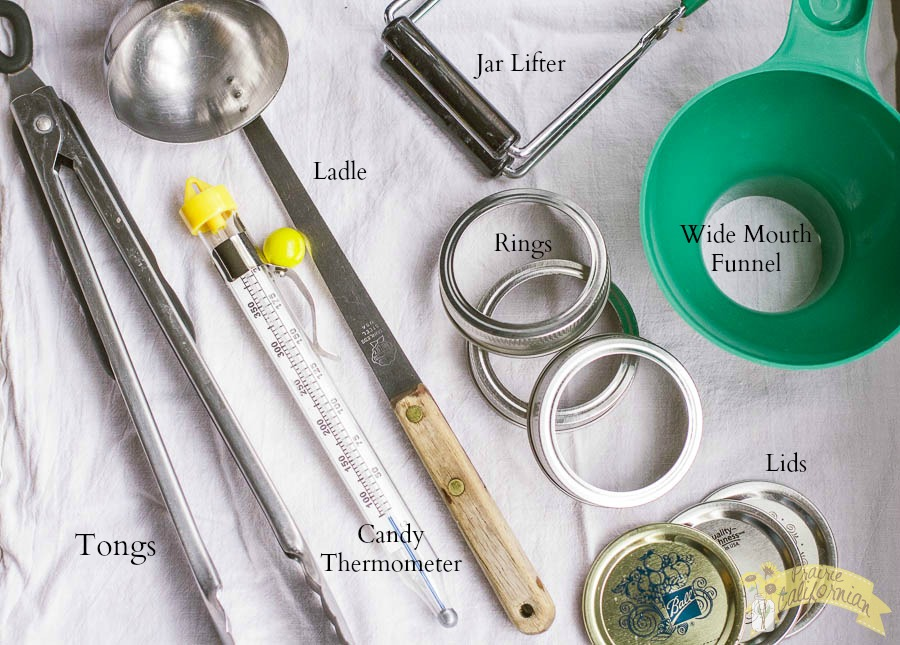 Canning Tools - Prairie Californian