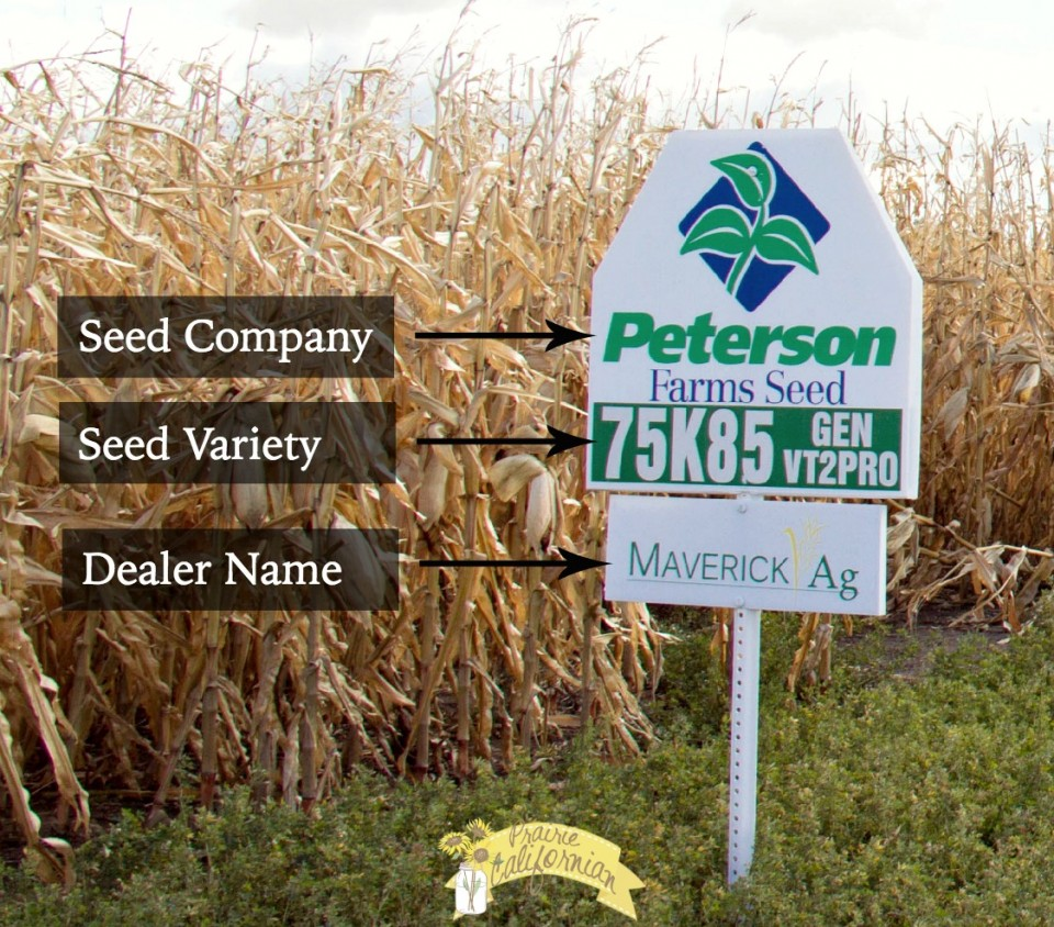 Seed Sign - Prairie Californian