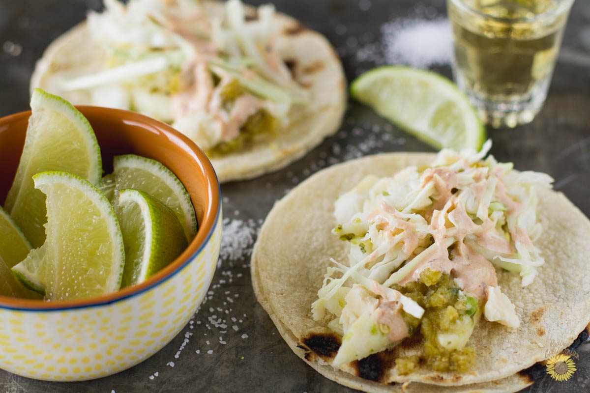 Tequila Lime Fish Tacos -