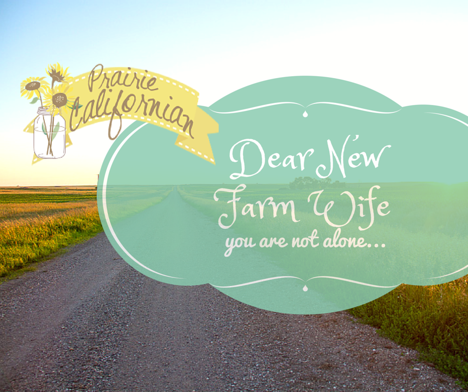 Dear New Farm Wife