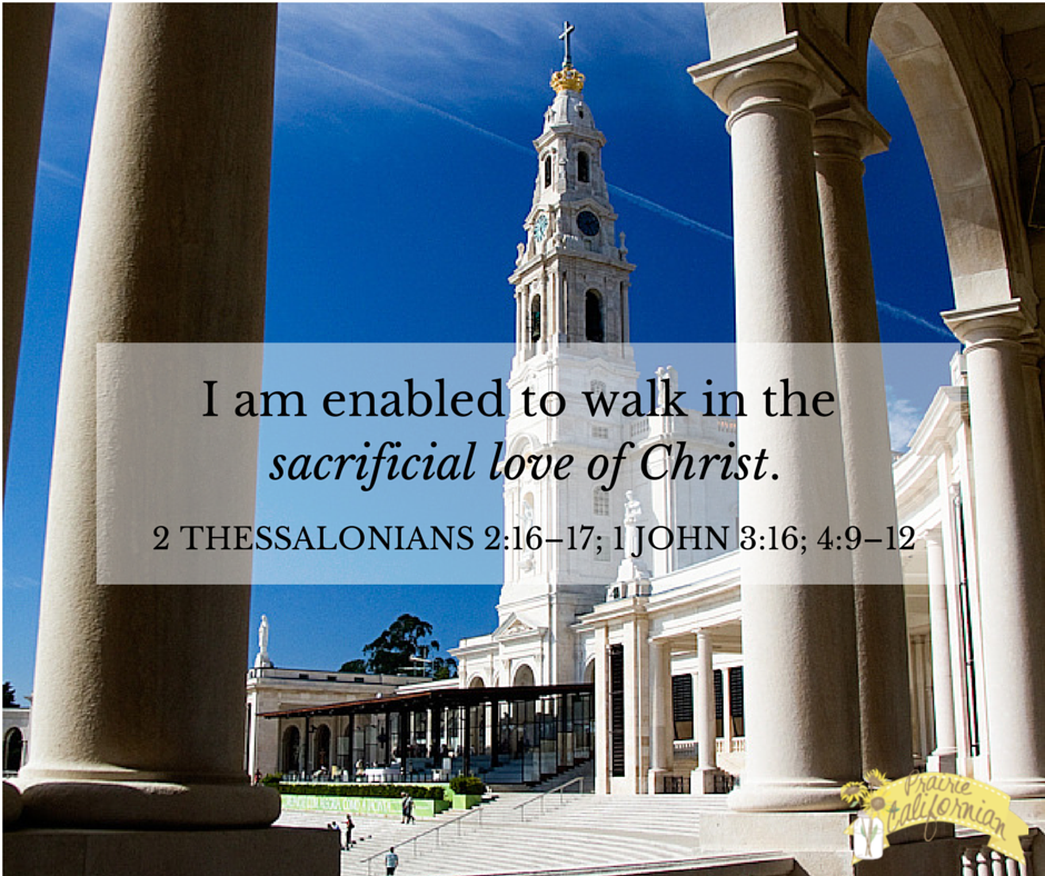 Faith Friday: Walking in Sacrificial Love