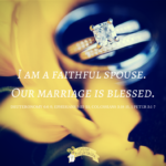 I am a faithful spouse. our marriage is