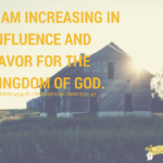 Influence for the Kingdom of God (1)