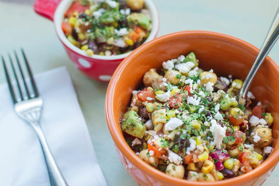 Sweet Corn and Black Bean Salad