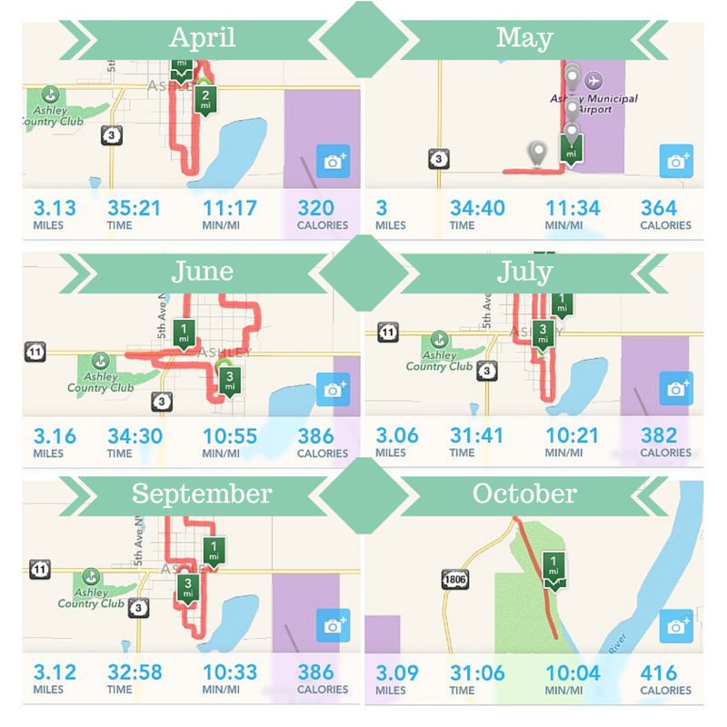 A Year of Running (1)