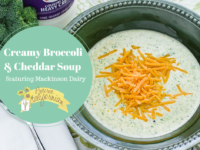 Creamy Broccoli & Cheddar Soup