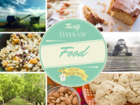 THIRTY DAYS OF FOOD