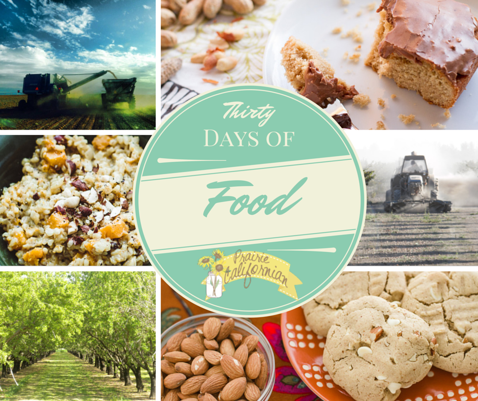 Thirty Days of Food Introduction