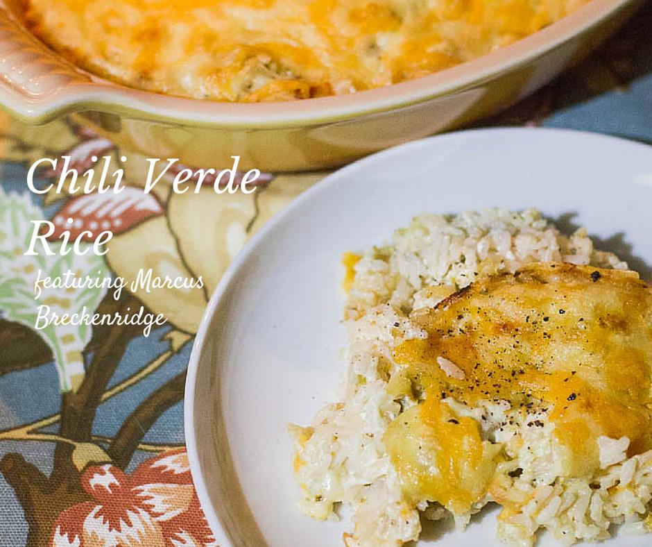 Chili Verde Rice featuring Marc Breckenridge