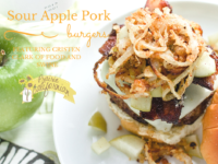 Sour Apple Pork Burgers