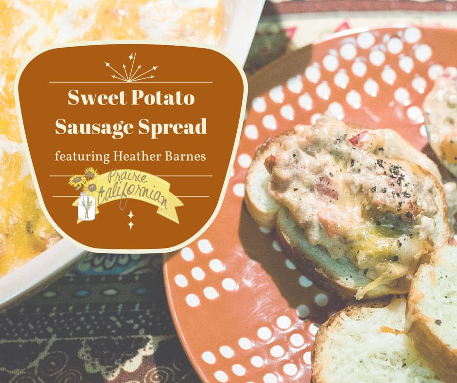 Sweet Potato Sausage Spread