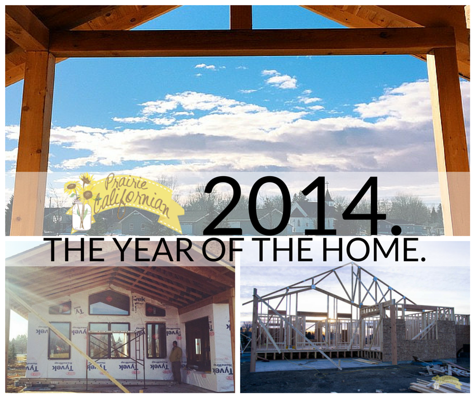 2014. The Year of the Home.