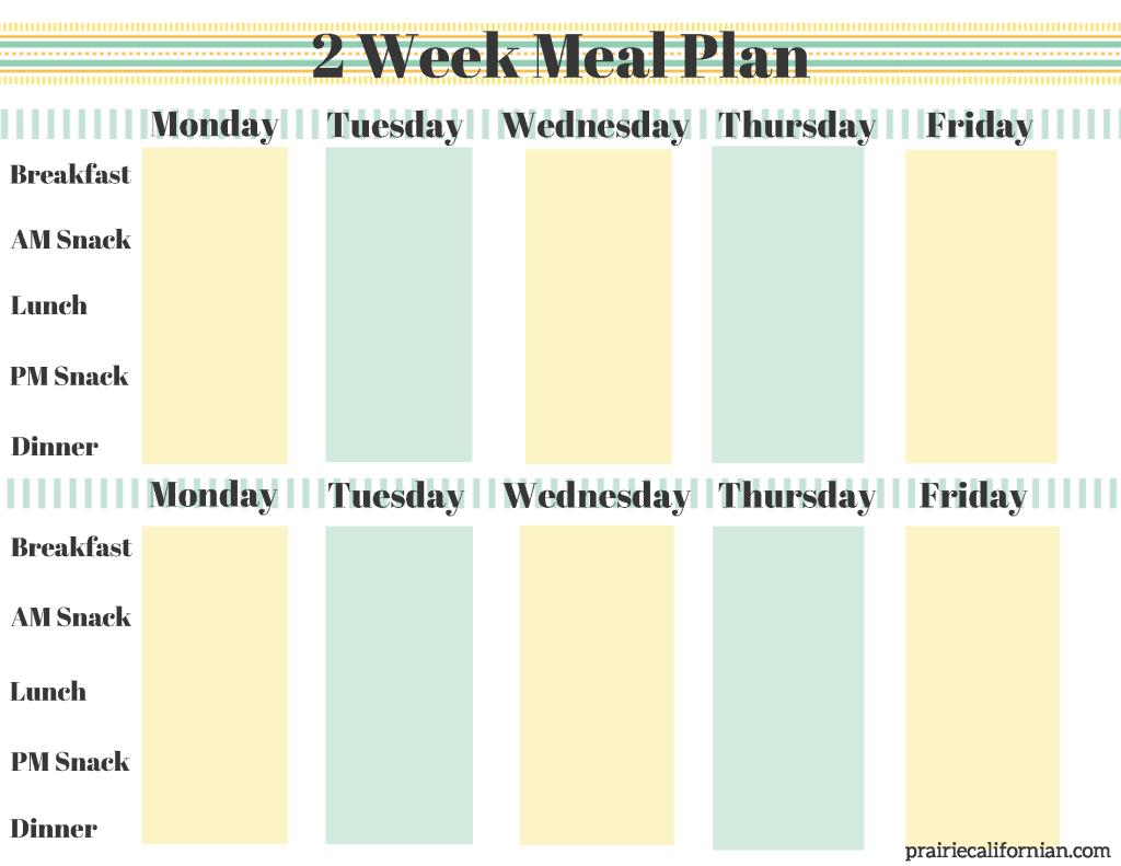 2 Week Meal Plan (1)
