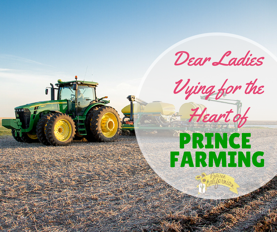Dear Ladies Vying for the Heart of Prince Farming