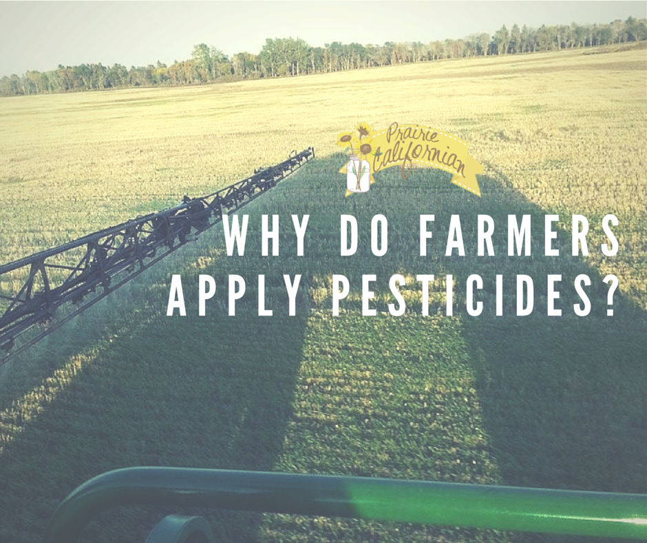 Why do Farmers Apply PesticideS-