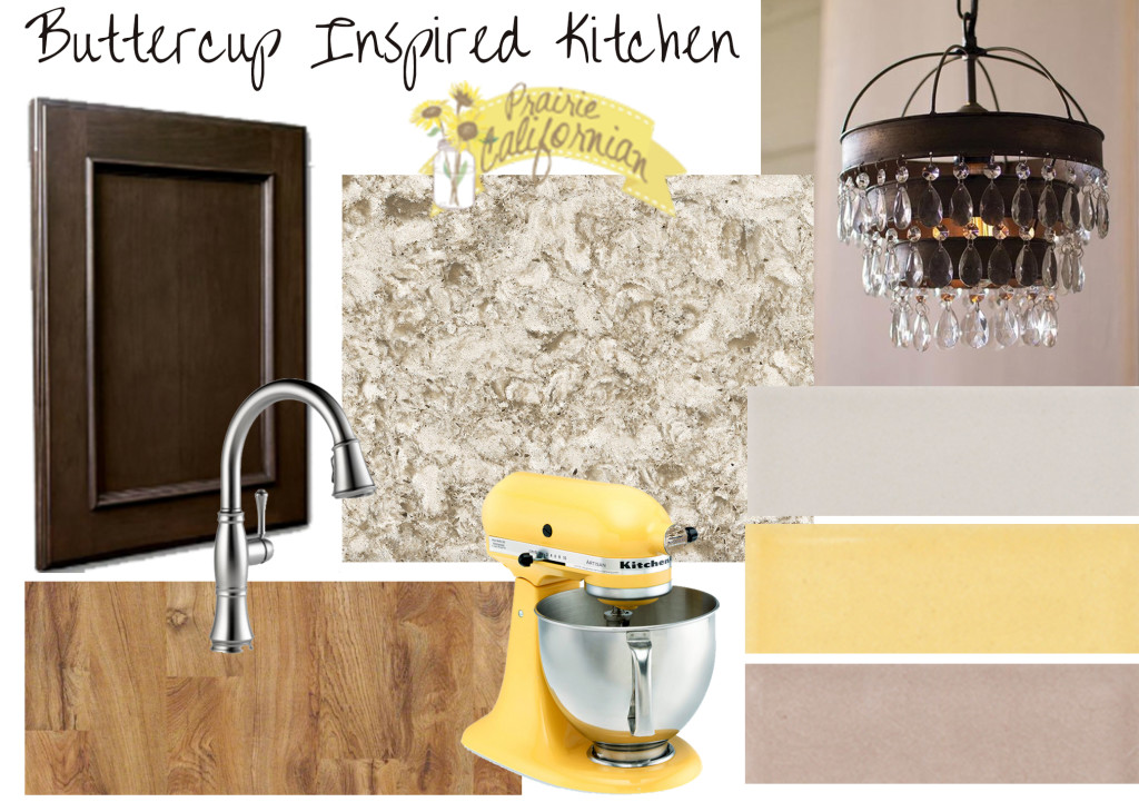 Buttercup Inspired Kitchen