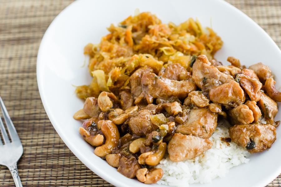 Cashew Chicken -Prairie Californian