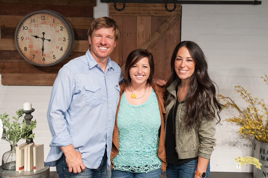 that time i met chip joanna gaines ecochic boutique design conference recap. Black Bedroom Furniture Sets. Home Design Ideas