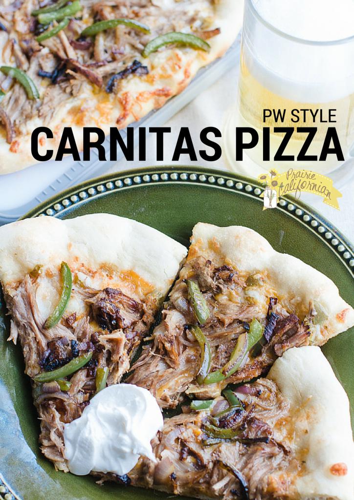 PW Style Carnitas Pizza - Prairie CalifornianPrairie Californian