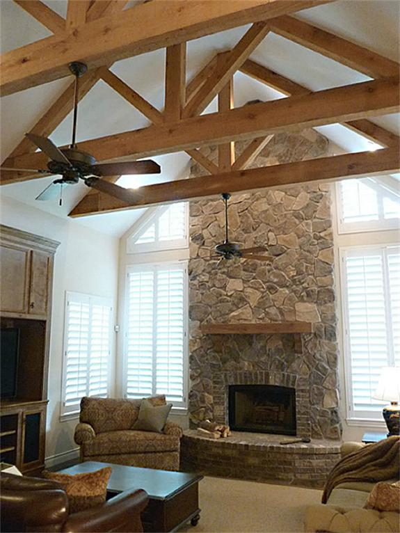 Diy Project Finishing Wood Beams