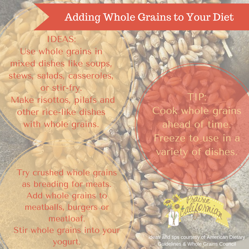 Adding Whole Grains to Your Diet