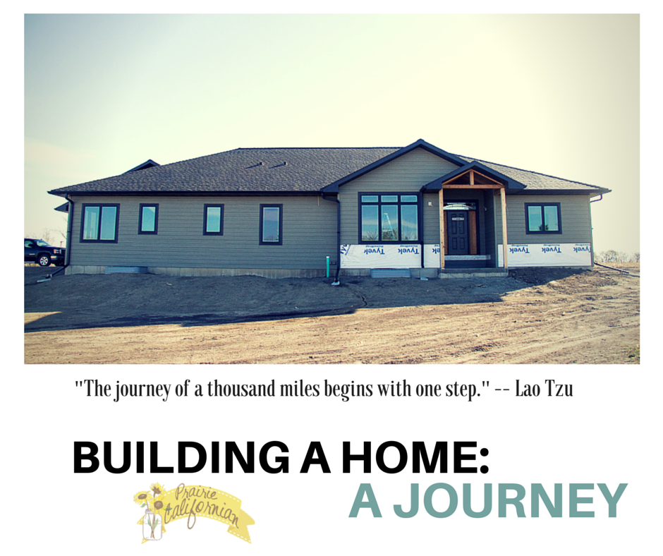 Building a home- A Journey