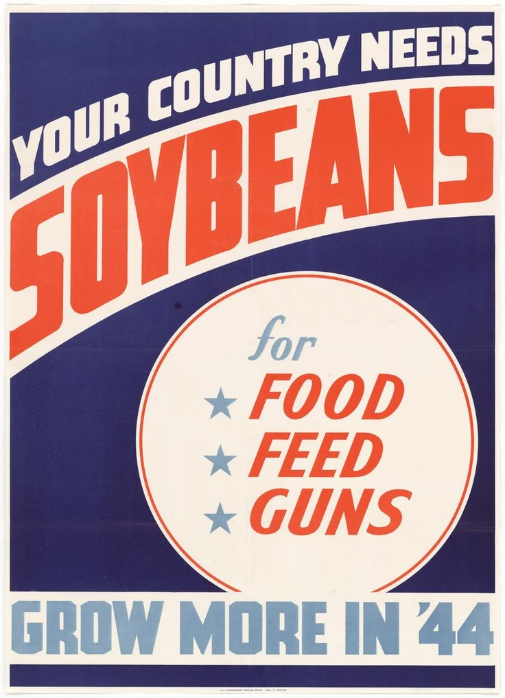 soybean war poster