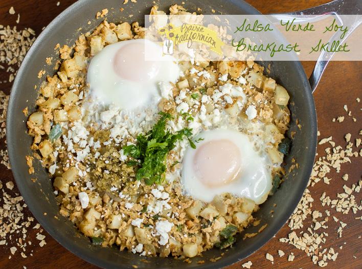Salsa Verde Soy Breakfast Skillet
