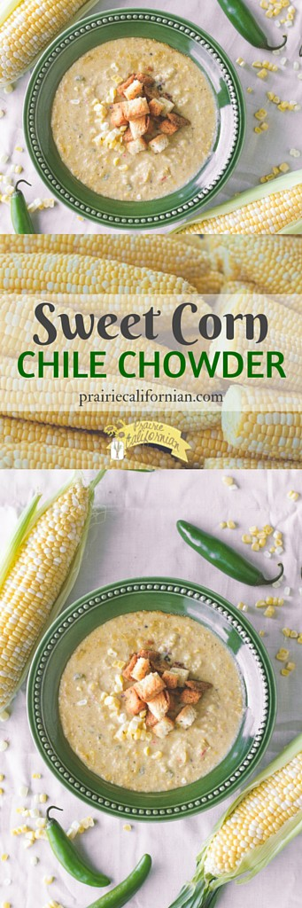 corn corn chowder Fall Soup sweet corn sweet corn chile chowder
