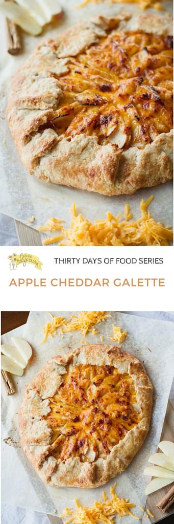 Apple Cheddar Galette - Prairie Californian