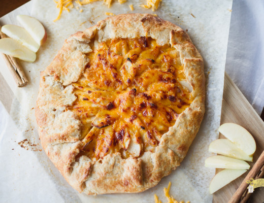 Apple and Cheddar Galette-2