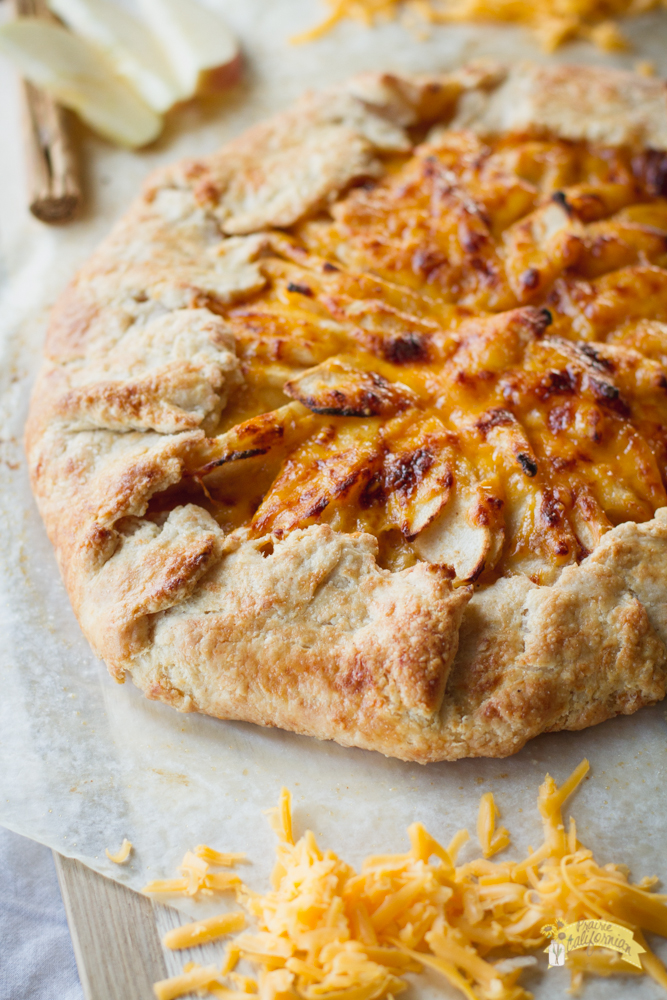 Apple and Cheddar Galette-3