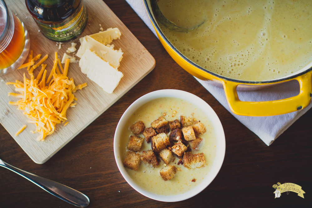 Beer Cheese Soup featuring Renee of Eat Farm Love