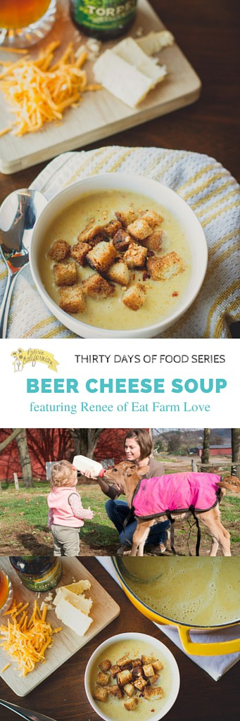 Beer Cheese Soup featuring Renee of Eat Farm Love - Prairie Californian
