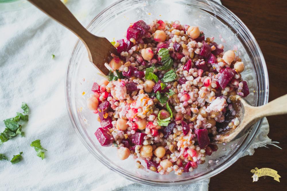 Buckwheat Beet Salad-4