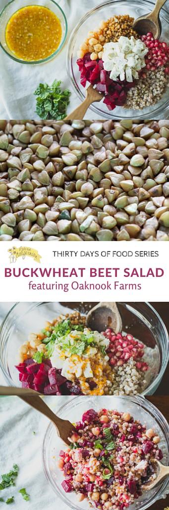 Buckwheat Beet Salad featuring Oaknook Farms - Prairie Californian