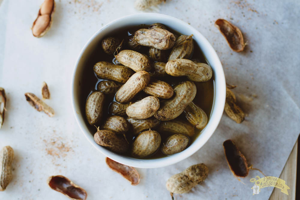Cajun Boiled Peanuts feautring Woodham Cattle Co.