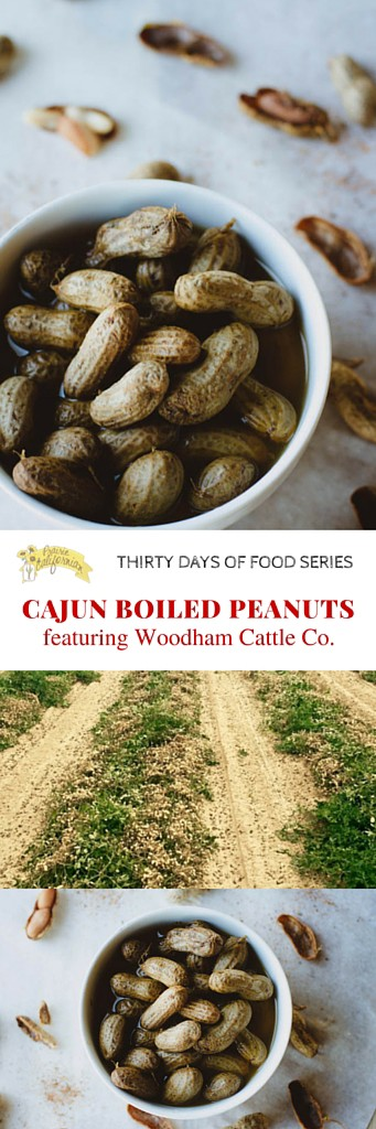 Cajun Boiled Peanuts featuring Woodham Cattle Co. - Prairie Californian